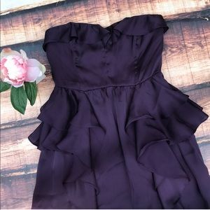 American Eagle Outfitters Dresses - $10 SALE❣️American Eagle Ruffle Strapless Dress